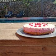 Pool & Fruchttorte