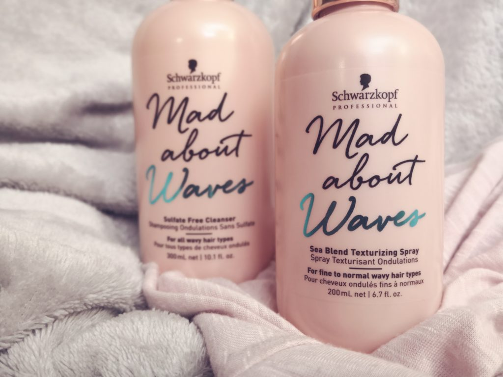 Mad About Waves Salzspray und Shampoo