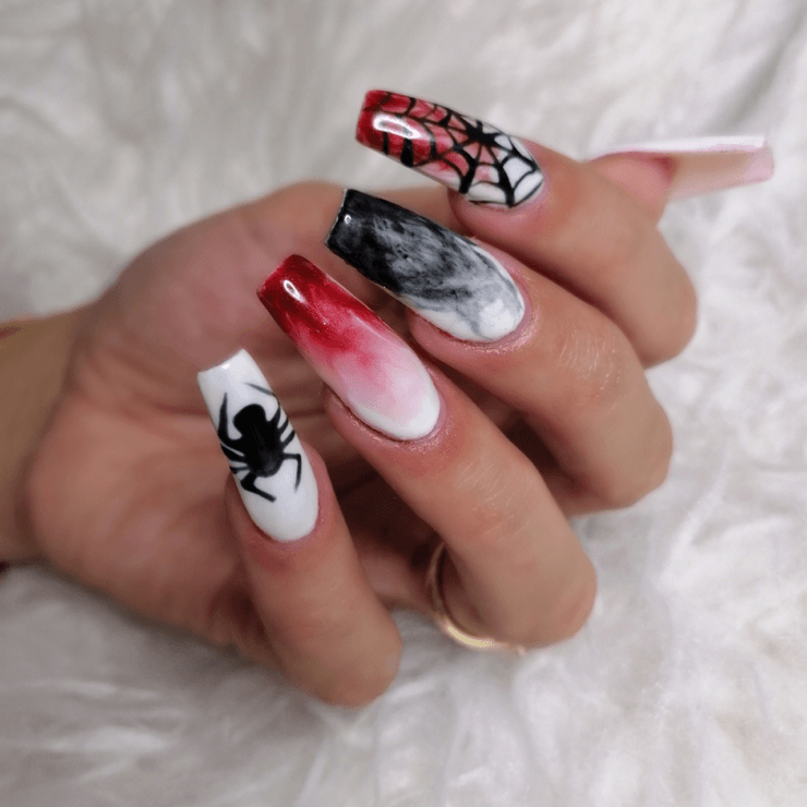 Halloween Nageldesign