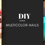 Multicolor Nails: der neuste Nageltrend
