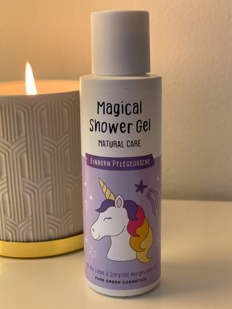 Pure Green Shower Gel Einhorn Edition